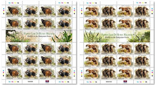 Wildlife Stamps Sheet