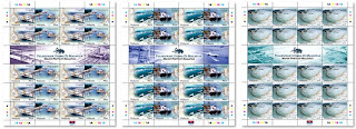 Ports Of Malaysia Stamp Sheet