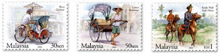 Traditional Transportation Stamps