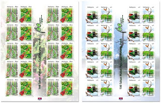 Matang Mangroves Stamps Sheet