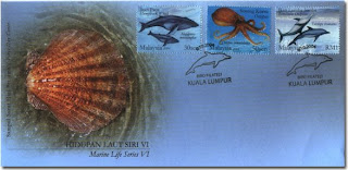 Marine Life First Day Cover