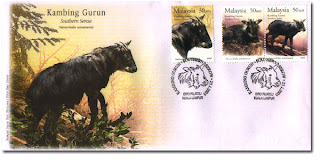 Southern Serow First Day Cover