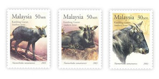 Southern Serow Stamps