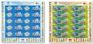 NAM Stamps Sheet