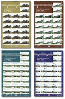 Bridges Of Malaysia StampsSheet