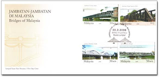 Bridges Of Malaysia First Day Cover