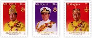 Coronation HRH Sultan Selangor Stamps