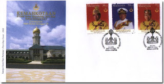 Coronation HRH Sultan Selangor First Day Cover