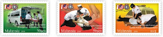 100th Anniversary Of St. John Ambulans Of Malaysia Stamps