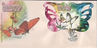 Butterflies Of Malaysia First Day Cover