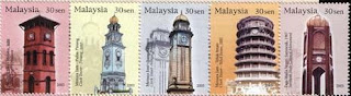 Clock Towers Stamp