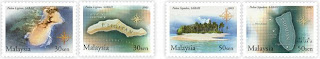 Islands Beaches Stamps