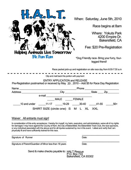 AndyNoise Com: H A L T  Rescue's 1st Annual Helping Animals