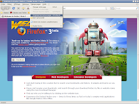Firefox 3 beta 5 - Marque-pages 1
