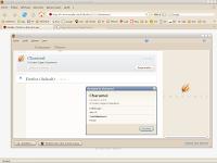 Theme Charamel pour Firefox 2
