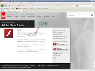 Adobe Flash Player - Installation manuelle du plugin OK