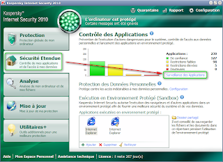 KIS 2010 - Gérer les applications