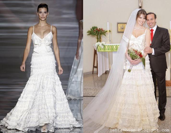 opymind: Anabella Hilal Wears Elie Saab for Her Wedding