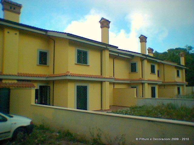 Pitture decorazioni tinteggiatura esterna con caparol muresko - Tinteggiatura esterna casa ...