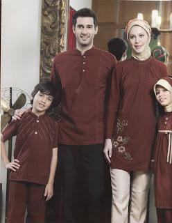 Baju Muslim seragam keluarga