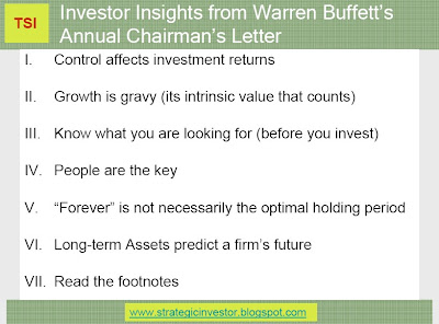 warren buffett annual letter the strategic investor warren buffett s letter to 6686