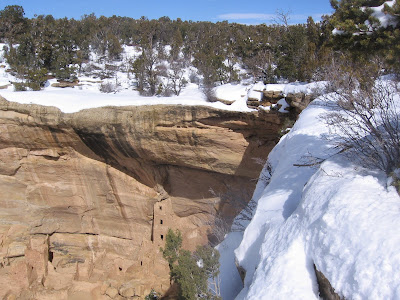 Four Corners Hikes Mesa Verde Square Tower House Overlook