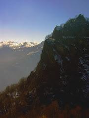 la rocca in inverno
