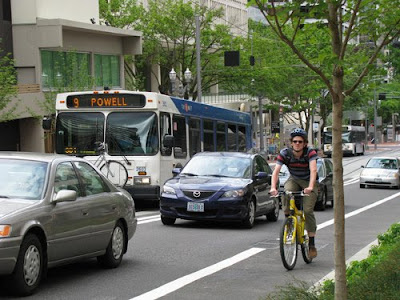 Multimodal Transporation in Portland