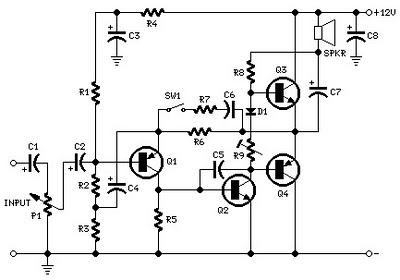 VC's Junk: Mini-box 2W Amplifier