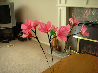 Sunny and Liz's Wedding Blog: Origami Cherry Blossom - photo#20