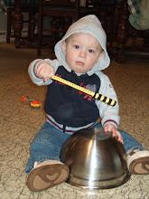 My little drummer boy