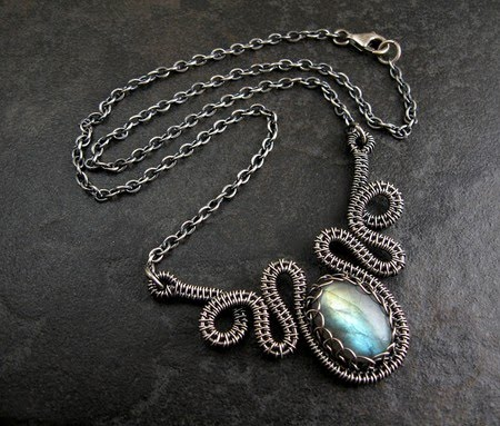 Gorgeous Free Woven Wire Tutorials from Wickwire Jewelry - The ...