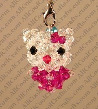 Beaded 3d Crystal Animal Tutorials By All Cool Crafts The Beading