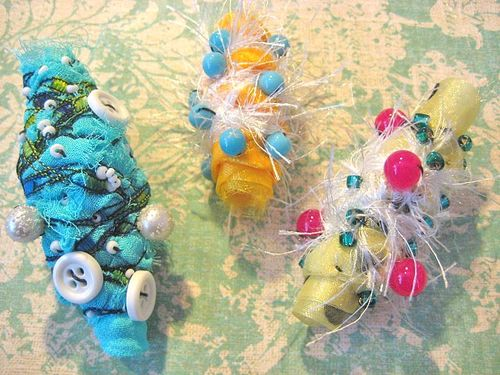 How To Make Fabric Jewelry Tutorial Links The Beading