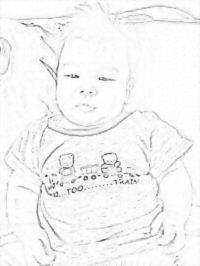 Sketch Drawing of BB Nathan