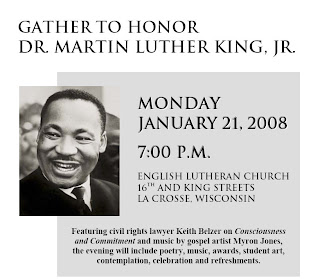 Martin Luther King Jr event in La Crosse