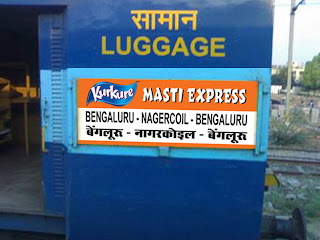 Image result for kurkure and pepsi train bogie in india