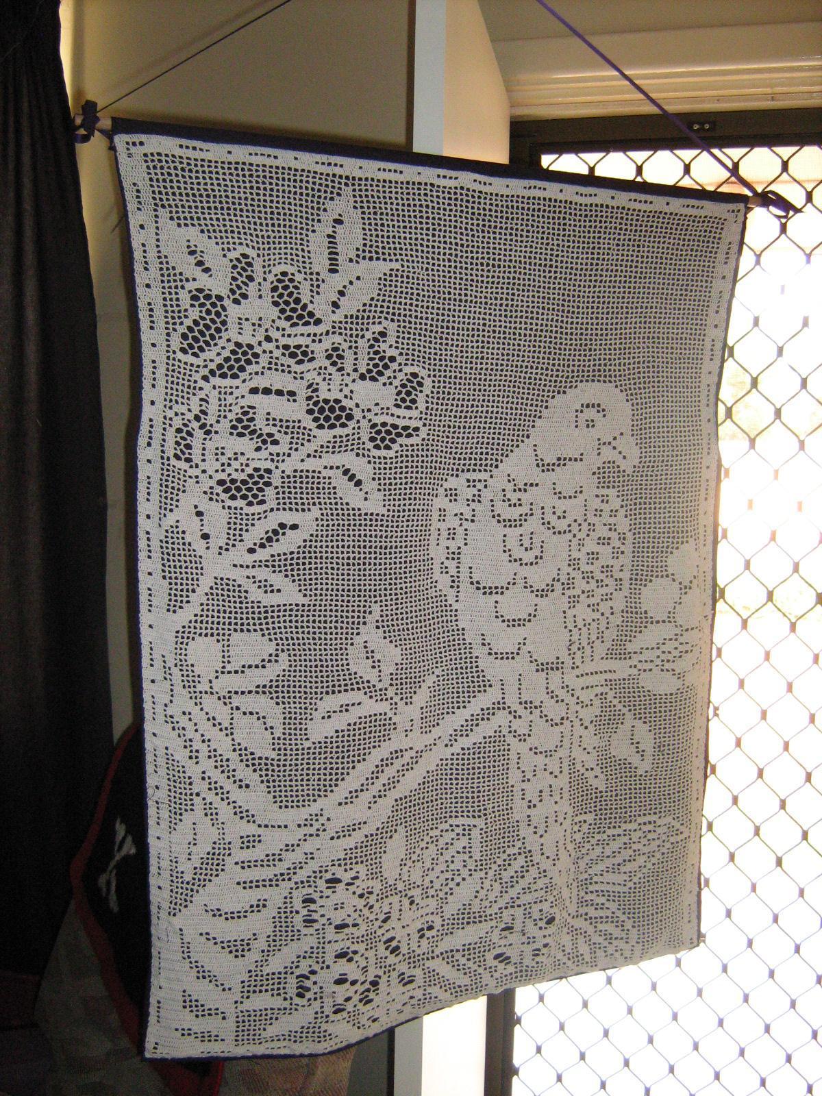 My Projects Filet Crochet