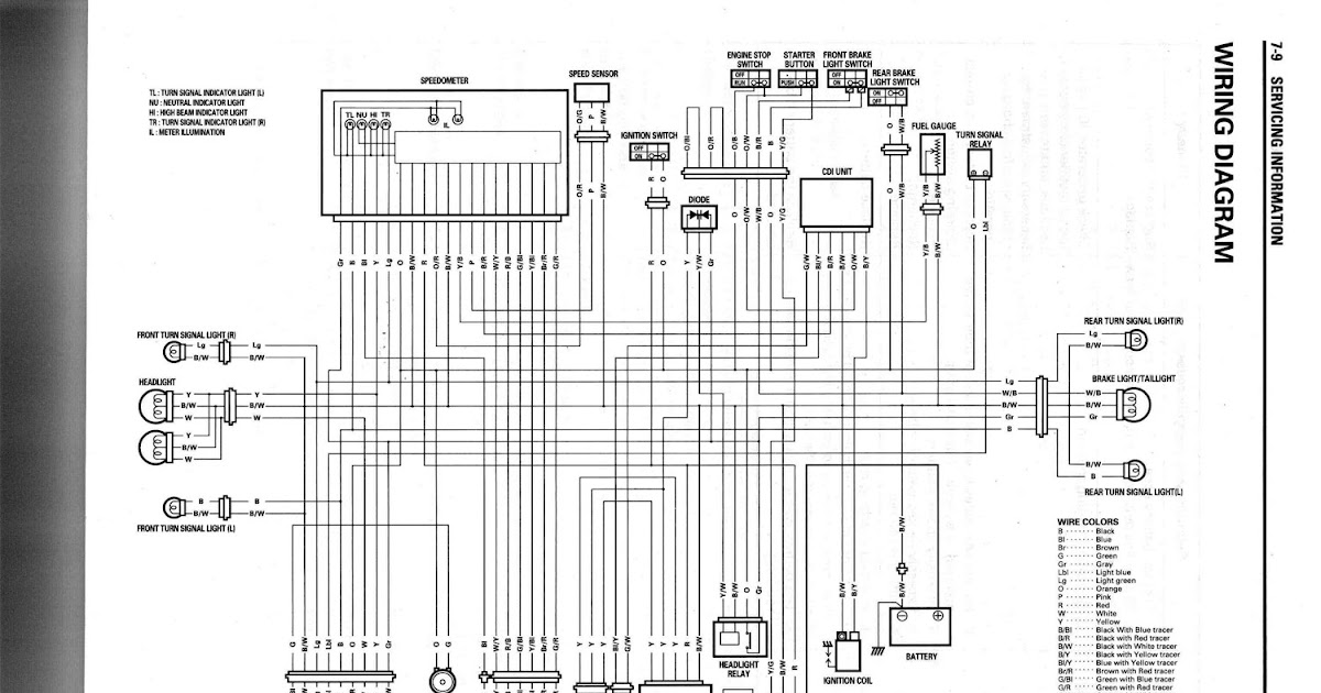 all about suzuki fxr150: wiring diagram suzuki fxr150
