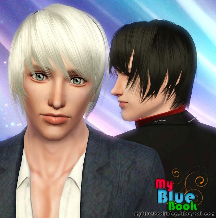 Dodatki Do The Sims 3 Sygita Modne Fryzury Męskie