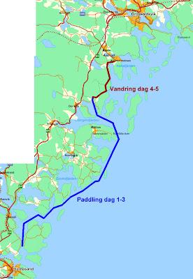 höga kustenleden karta Kajak Höga Kusten / Kajak Härnösand: Paddla kajak och vandra  höga kustenleden karta