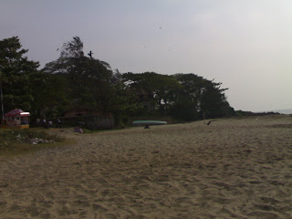 Seaside Beach at fort cochin