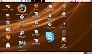 Netbook running gnome