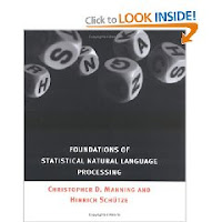 Foundations of Statistical Natural Language Processing book cover