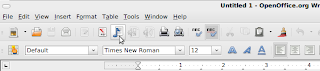 odt2daisy Menu option in Openoffice.org