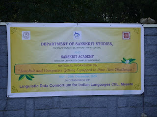 Sanskrit computational linguistics workshop poster