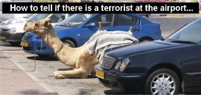 Funny Picture - How do you know if there is a terrorist at the airport?