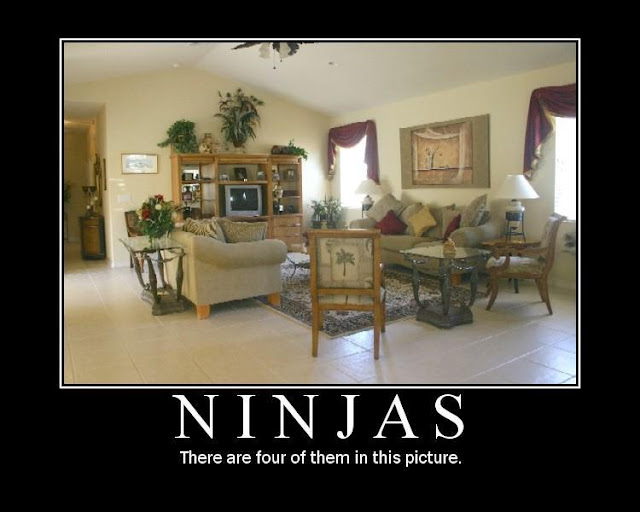 Funny Pic - Four Ninjas