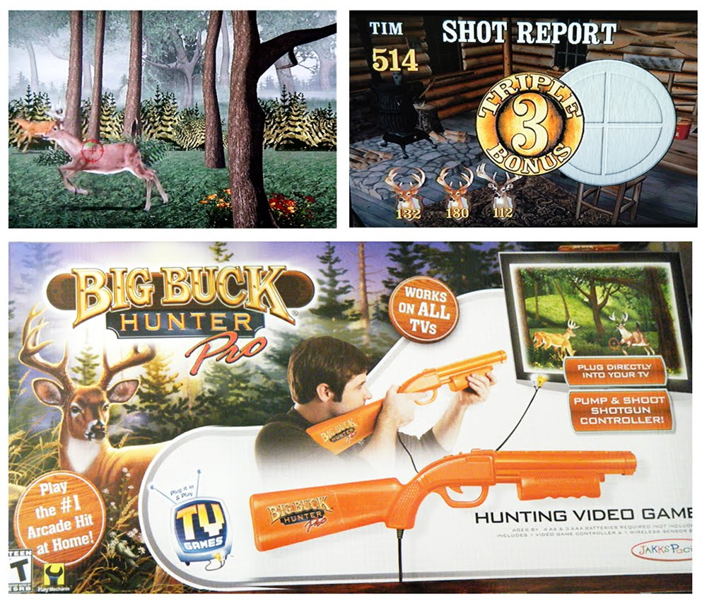 Amazon.com: Sure Shot HD Big Buck Hunter® Pro Video Game ...
