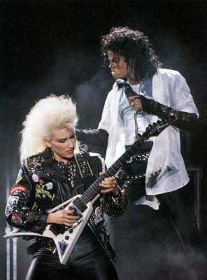 Meet Michael Jacksons Female Lead Guitarist